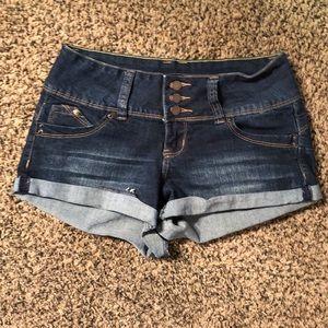YMI brand denim shorts